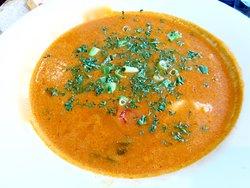 Brazilian fish soup