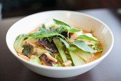 紅咖哩蔬菜