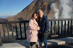 active volcano steam