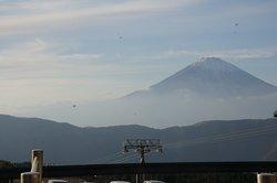 mount fuji from far away
