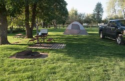 Spearfish Black Hills KOA tent camping, it doesn't get any better than this!