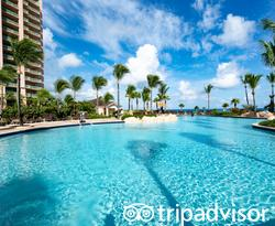 The Cascades Pool at The Cove at Atlantis