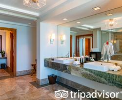 The Saphire Suite at The Cove at Atlantis