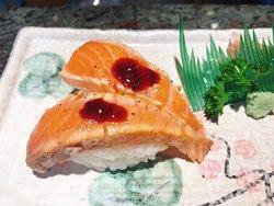 sushi saumon mariné