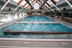 Lap pool at the Lynnwood Recreation Center