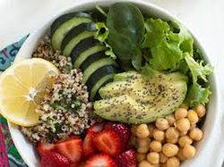 Buddha Bowl. Todos los ingredientes de una buena dieta vegana