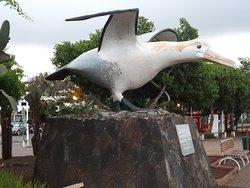 Monumento de aves de Galápagos