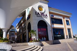 High end mall, Laisla, walking distance from our hotel 15 minutes walk.