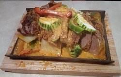 Crispy Duck with Panang Curry