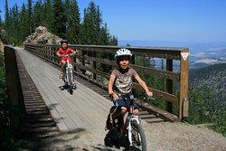 Myra Canyon Bike Rentals