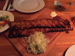 Barbecued ribs in Vienna