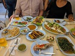 Seafood. Eat food.