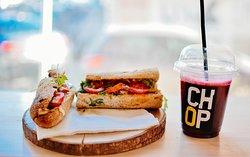 Chop Sandwich Club