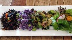 four types of salads (deli)