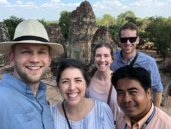 Wonderful private tour of Angkor wat and surrounding temples