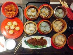 Chinese food at Asiana Food Town