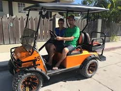 Thank you Glen and Renee for choosing Sam's Golf Cart Rental! I hope you enjoy the rest of your vacation and have a very Happy New Year!