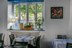 Salle du Restaurant du Chêne à Itxassou
