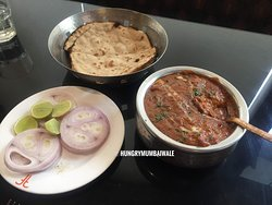 chicken anarkali Butter roti