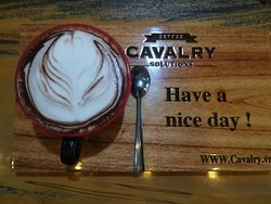 Great real coffee, beautiful place, super nice staff