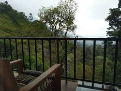 View from room, mounatin side