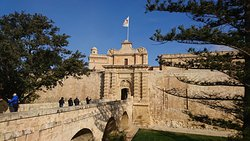 Mdina Main Gate - Baroque gateway