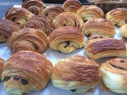 Croissant deliciosos.