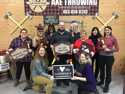 The Wood Shed - Axe Throwing