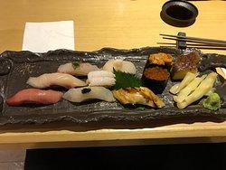 鮮味十足的壽司