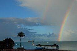 Nous avons eu deux jours de pluie et soleil en alternance, ce qui nous a donné droit à de beaux arc-en-ciel