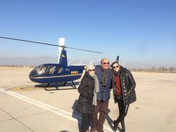 Helicopter tour at Greatwall