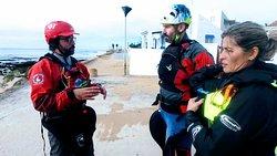 Instructores ACA Kayak de mar