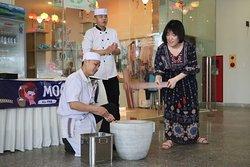 Traditional handmade mochi brings New Year's cheer