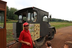 La Garrotxa Volcanic Zone Natural Park (guided excursion around by antique train)