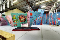 Stone Moves Indoor Rock Climbing