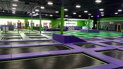 Air Insanity Indoor Trampoline Park