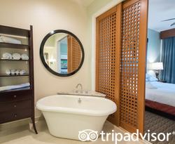 The Two Bedroom Suite at the Kings' Land by Hilton Grand Vacations