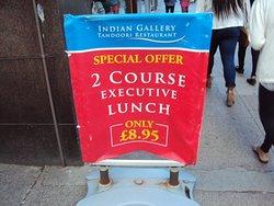 Indian Gallery Tandoori Restaurant , Glasgow