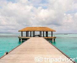 Arrival Jetty at the Noku Maldives