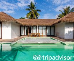 The Two Bedroom Beach Villa at the Noku Maldives
