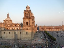 View from the Zocalo suite and the restaurant