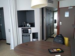 Für ein paar Tage Aufenthalt in Paris ist das Hotel in Ordnung