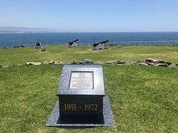 Memorial in the daytime