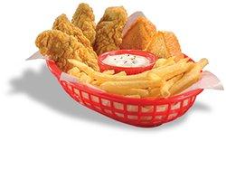 DQ Chick'n Strip Basket