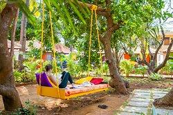 Sampoorna Yoga - common area to chill