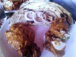 Murg mussallam & butter chicken