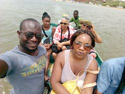 Lagoon of someone, boat ride to visit the birds,