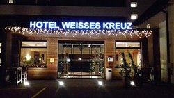 Vista serale ingresso Hotel