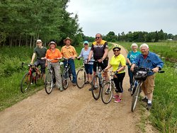 Cafe Wren is adjacent to the Gandy Dancer State Trail so plan to bike or hike. The Cafe has parking for trail users and bike passes are required and available for purchase. See you on the trail!