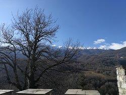 St. Jovan Bigorski view from yard